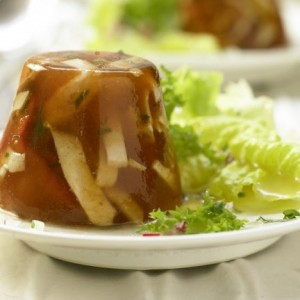 Healthy lunch recipes - Spicy chicken aspic I #healthy #chicken #recipes #aspic