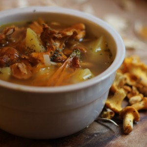 Mushroom Soup WIth Carrot